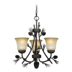 Sierra 3 Light Chandelier