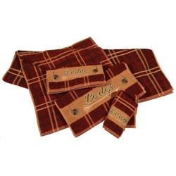 Plaid Lodge Towel Set