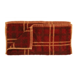 Plaid Rustic Bath Towels