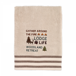 Cabin Words Towels