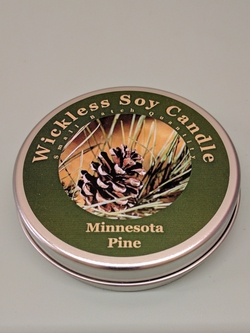 Wickless Soy Minnesota Pine Candle