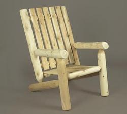 Log High Back Arm Chair