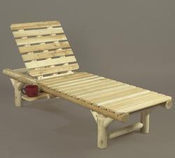 Log Lounge Chair