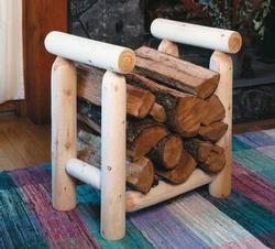 2' Log Style Firewood Rack