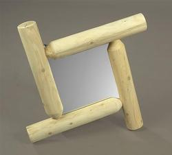 Frontier Log Mirror