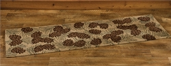 Walk in the Woods Hooked Rug - Runner
