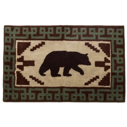 Bear Lodge Bath Rug