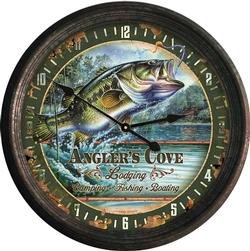 Rusted Bass Clock - 15