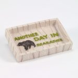 Cabin Words Soap Dish