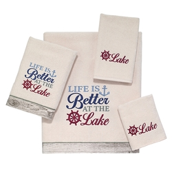 Life is Better at the Lake Towels