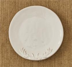 Deer Silhouette Appetizer Plate - Set of 4