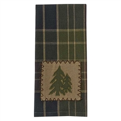Frontier Plaid Dish Towel