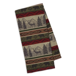 Back Country Stripe Jacquard Dishtowel