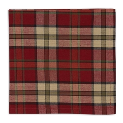 Campfire Plaid Napkin - Set of 2