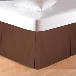 Brown Bedskirt