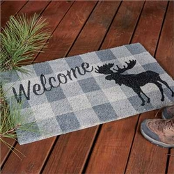 Welcome Moose Doormat