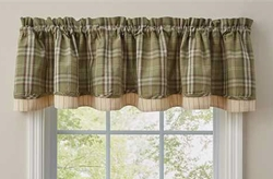 Spruce Pine Lined Valance