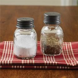 Mason Salt and Pepper Shakers