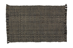 Tweed Placemat - Charcoal - Set of 2