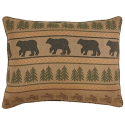 Bear Tracks Standard Sham - Set of 2