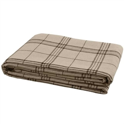 Fieldstone Lodge Plaid Queen Bedspread