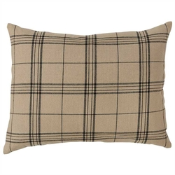 Fieldstone Lodge Plaid Standard Sham