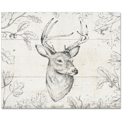 Counter Saver Deer Cutting Board