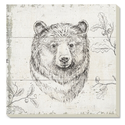 Bear Coaster - Square - Set of 4