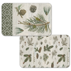 Woodland Pine Place Mat - Set of 2