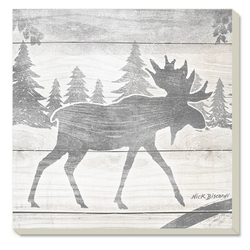 Moose Walk Coaster - Set of 4