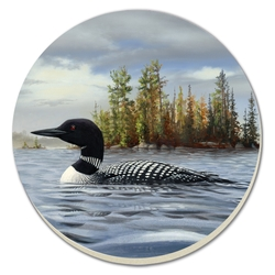 Loon on the Lake Coaster - Set of 4