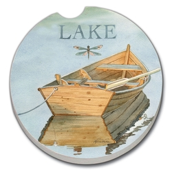 Lake Boat Car or Boat Coaster - Set of 2
