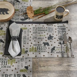 Bear Factology Placemat - Set of 2