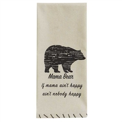 Mama Bear Dish Towel