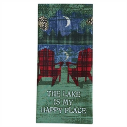 Lake is my Happy Place Towel