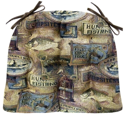 Woodland Fish Camp Chair Pad