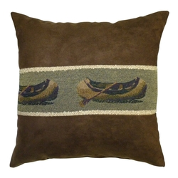 Canoe Toss Pillow - 14