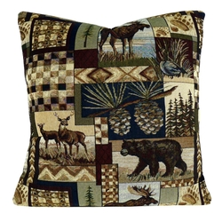 Woodlands Pete's Cabin Pillow
