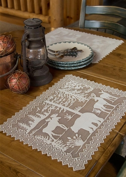 Lodge Hollow Placemat - Natural - Set of 2