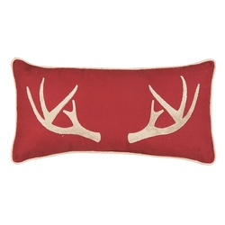 Tuffted Antler Pillow