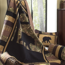 Camo Bear Throw