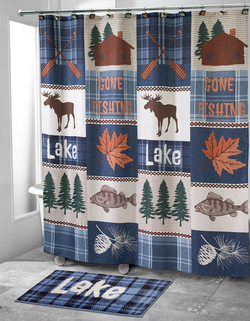 Lakeville Shower Curtain