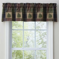 Frontier Patch Lined Valance