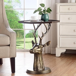 Deer End Table