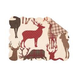Antler Dream Colton Placemats - Set of 2