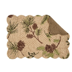 Woodland Retreat Placemats - Set of 2