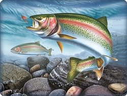Rainbow Trout Cutting Board
