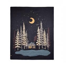 Moonlit Cabin Throw