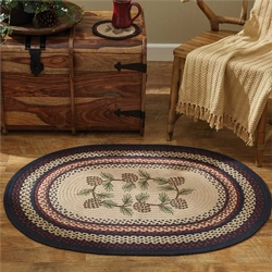 Pinecone Braided Rug - 32