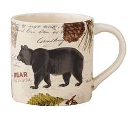 Wildlife Trail Bear Mug